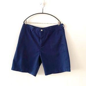 Vineyard Vines Navy Club Cotton Shorts Size 36